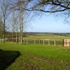 View from footpath towards Honey Lane