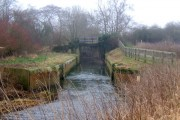 Pipps Ford lock, River Gipping
