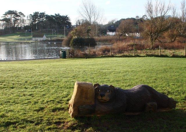 Ornamental Bear, Young's Park, Paignton