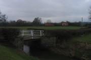 Bont dros 'New Cut' / Bridge over the New Cut