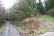 Entrance to Dodscott Wood