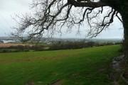 Great Torrington in the distance
