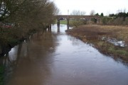 River Penk in Flood