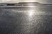 Kirkibost Island/Eilean Chirceboist across Oitir Mhòr