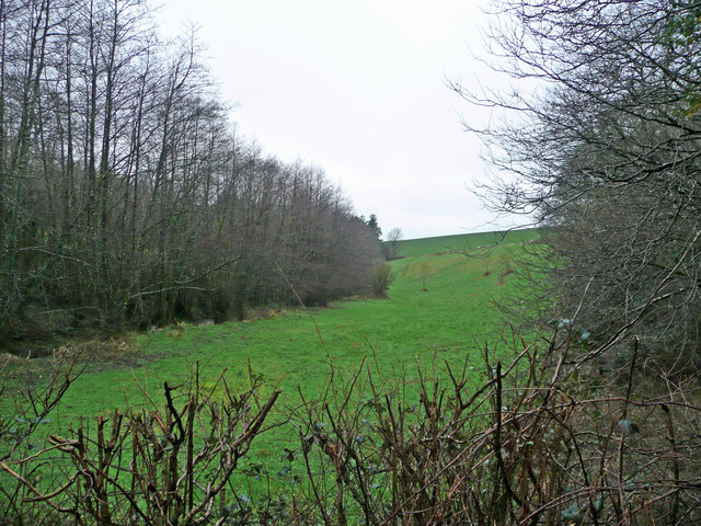 The Huntshaw valley