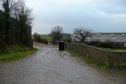 Track south of Moortown Farm
