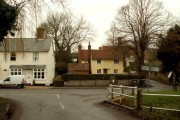 Part of Great Hormead village