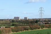Staffordshire Farmland towards Merry Hill