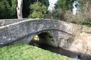 Old bridge in Hampsthwaite