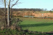 Field and Sand Quarry, near Halfpenny Green, Staffordshire