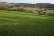 Farmland to the west of Cranham