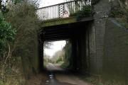 Railway bridge across Mill Road
