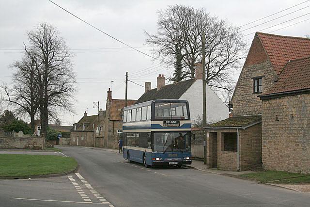 With the Delaine to Peterborough - Morton