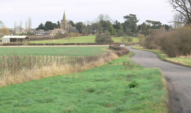 Drayton Lane towards Fenny Drayton