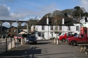 Calstock: towards The Tamar Inn