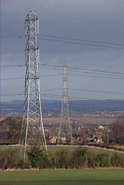 Parallel pylons