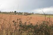 Ploughed field near Kilcot