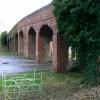 Bridge over trackbed of M&SWJR, near South Cerney