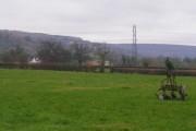 Farm fields looking towards Shurdington