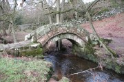Packhorse Bridge at Thornthwaite