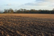 Ploughed field, Ashampstead