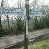 Signpost at Gravel Pit Cross