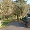 Driveway to The Hill, Barrow upon Trent