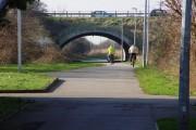 Road Bridge over the cycle track, Marfleet
