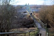 Access to Rother Valley Country Park from Beighton