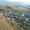 Tremadog village, viewed from Craig-y-Castell