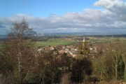 Almondsbury Village and the Old Severn Bridge