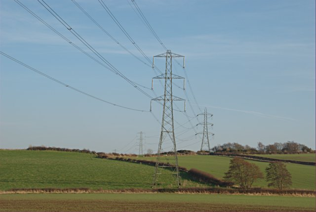 The march of the pylons