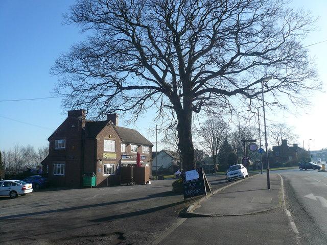 Newbold - The Wheatsheaf Pub and Newbold Road