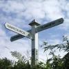 Hawkchurch: Brimley Cross Looking South 2007