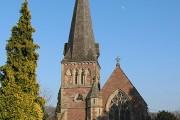 Western facade of the Church of St. Mary the Virgin, Flaxley