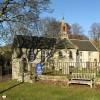 Yarrow Parish Kirk in February