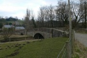 Bridge over the River Alun at Llong