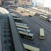 Newport: bus station from above
