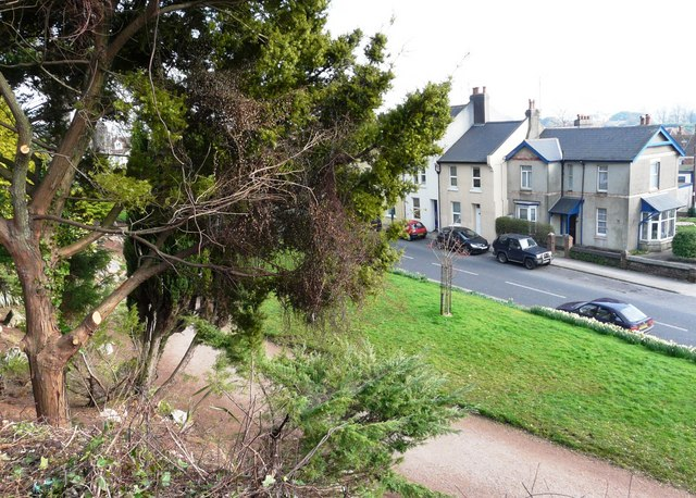 Torquay Road, Oldway mansion gardens, Paignton