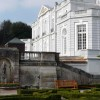 Statue and parterre, Oldway Mansion, Paignton