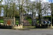 Gates to Carrowdore Castle
