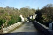 The bridge at Monington, looking east