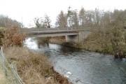 A76 bridge over Cluden Water