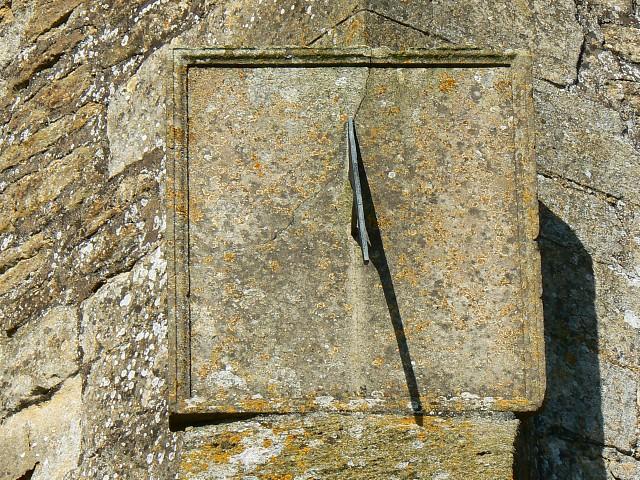 Sundial, St John the Baptist church, Latton