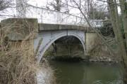 Bridge over Cound Brook.