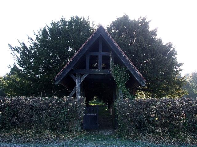 Wilstone Cemetery Lychgate