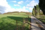 View towards Harrock