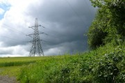 Pylon between Stoney Cross & Woodtown