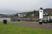 Corpach, Canal exit into Loch Linnhe