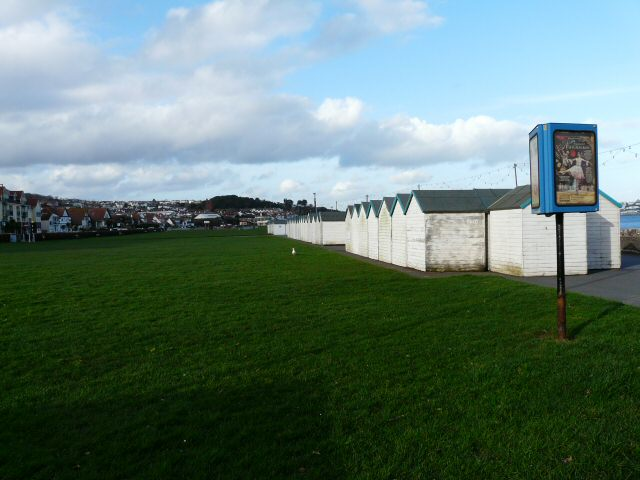 Beach Huts stored for the Winter